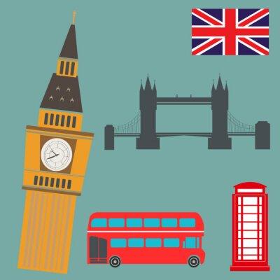 Sticker London Vector Graphics