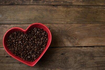 Sticker love for coffee,