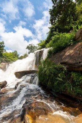 Sticker Mae klang waterfall, doi inthanon national park, Thailand