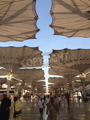 Sticker: Masjid nabawi medina al munawwarah