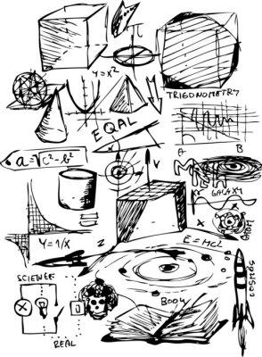 Sticker math symbols