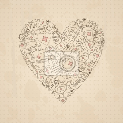 Medical heart3