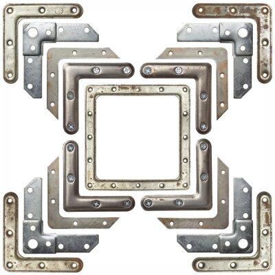 Sticker Metal corners