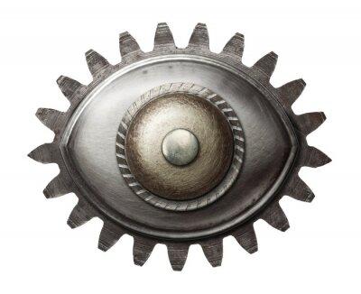 Sticker Metal eye