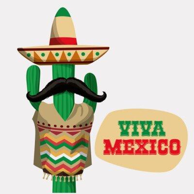 Sticker Mexico design.
