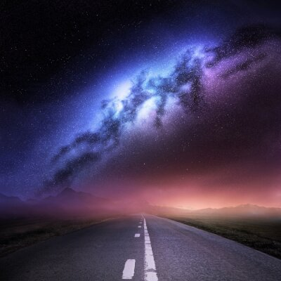 Sticker Milky Way Galaxy From Earth