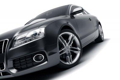 Sticker Modern black car