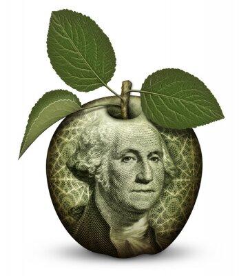 Sticker Money Apple