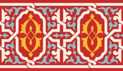 Sticker Morocco Antique Seamless Border