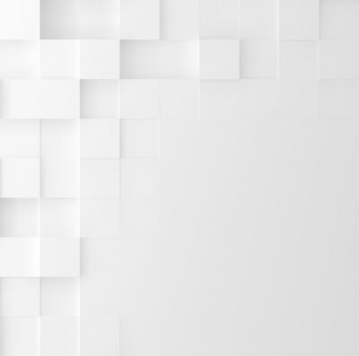 Sticker Mosaic square background. Abstract Geometric minimalistic cover design. Vector graphic.