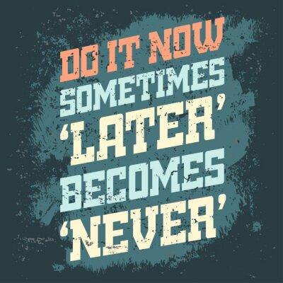 Sticker Motivational Quote Banner