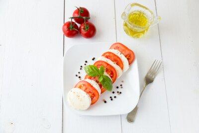 Sticker Mozzarella z pomidorami i pieprzem