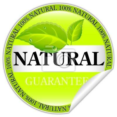 Sticker Natural