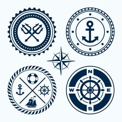 Sticker Nautical Emblems