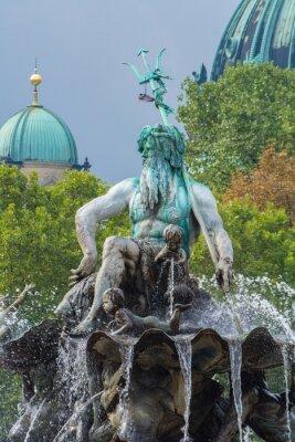 Sticker Neptunbrunnen und Berliner Dom, Berlin