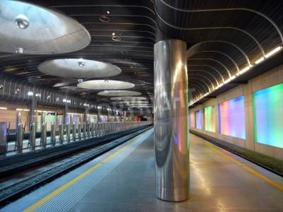Sticker New train station - Auckland architecture