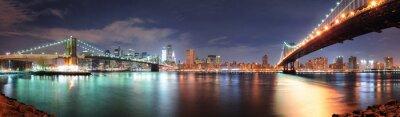 Sticker New York City panorama
