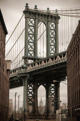 Sticker New York Manhattan Bridge