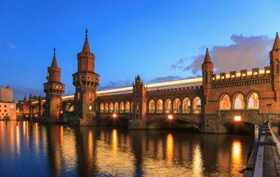 Sticker Oberbaum bridge, Berlin, Germany