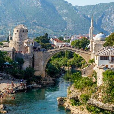 Sticker Old bridge in Mostar