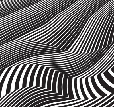 Sticker optical art background abstract greyscale artwork black and whit