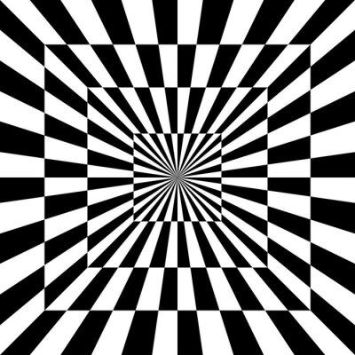 Sticker Optical Pattern