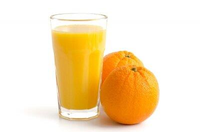 Sticker Orangensaft