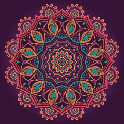 Sticker Ornamental mandala