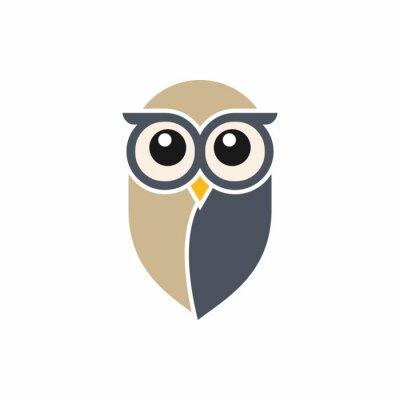 Sticker Owl Logo Template