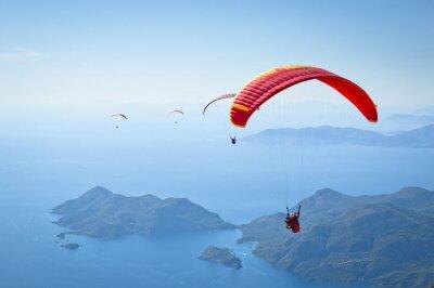 Sticker Parachuting
