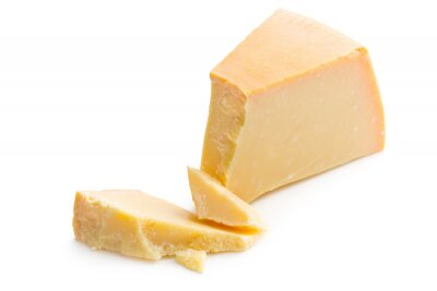 Sticker parmesan cheese