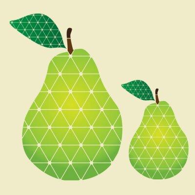 Sticker pears