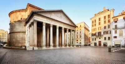 Sticker Piazza della Rotonda e il Pantheon, Roma