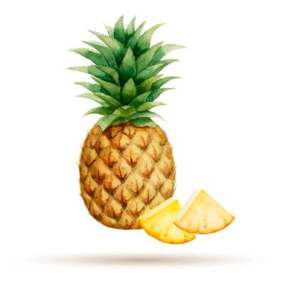Sticker Pineapple