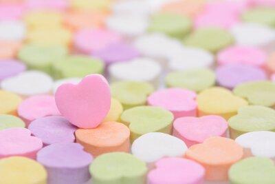 Sticker Pink Cndy Heart