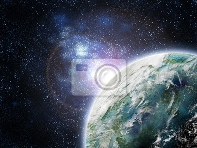 planette in galaxy