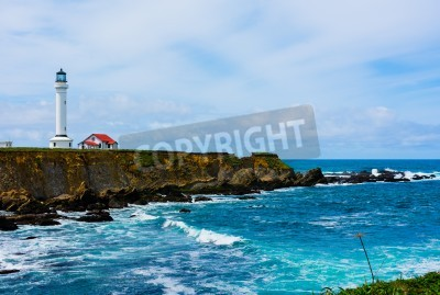 Sticker Point Arena Lighthouse in California