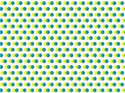 Sticker polka dot white seamless vector pattern