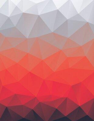 Sticker Polygon vector background illustration