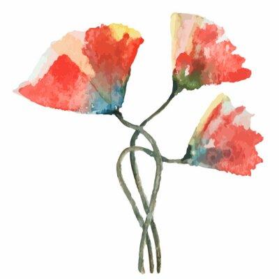 Sticker Poppies