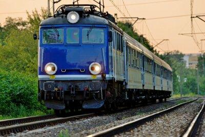 Sticker railway transport