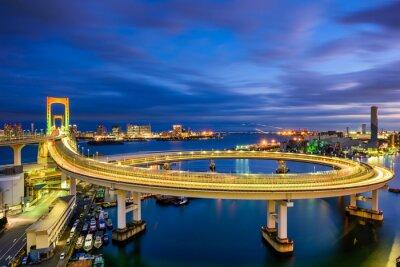 Sticker Rainbow Bridge Tokyo