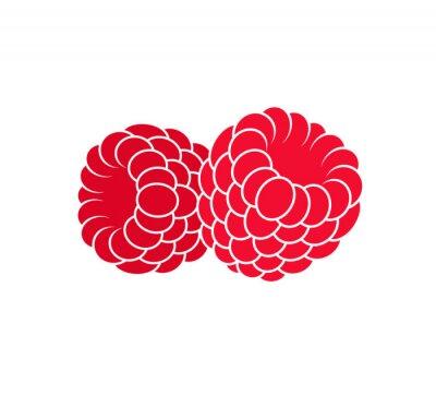 Sticker Raspberries