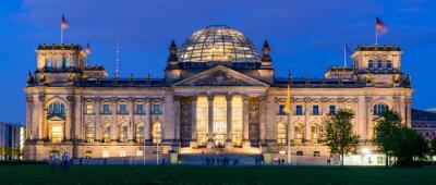 Sticker Reichstag building in Berlin