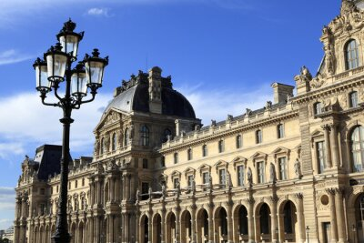 Sticker Renaissance architecture at the Louvre Museum, Paris