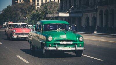 Sticker Retro: Oldtimer Havanna | Kuba