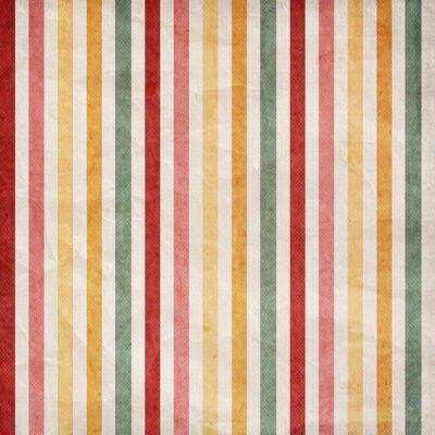 Sticker Retro stripe pattern