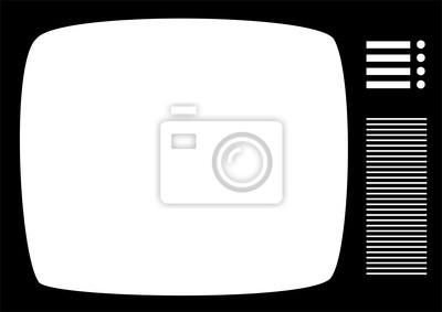 Sticker Retro TV 2