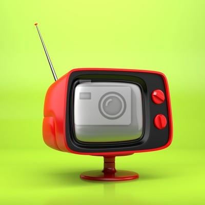 Sticker Retro TV