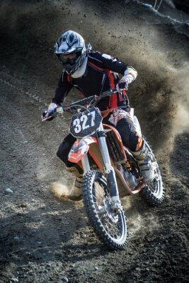 Sticker rider in action